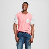 Mossimo Men's Big & Tall Short Sleeve Color Block Henley with Pocket