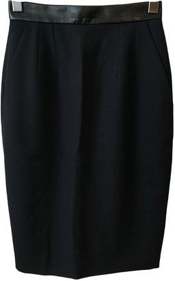 Barbara Bui Black Wool Skirt for Women