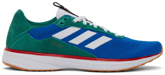Noah NYC Blue and Green Adidas Edition SL 20 Sneakers