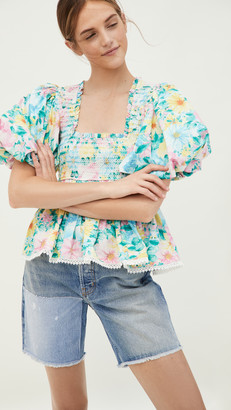 HEMANT AND NANDITA Floral Top