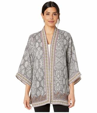 Max Studio Women's Printed Kimono