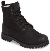 Blackstone Women's Ol22 Lace-Up Boot With Genuine Shearling Lining