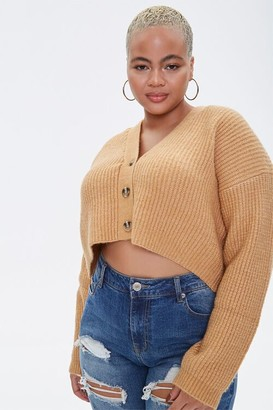 Forever 21 Plus Size Cropped Cardigan