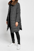 Brunello Cucinelli Coat with Fox Fur Collar