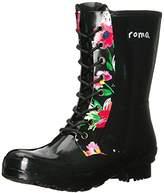 Roma Boots Roma Women's Epaga Short Lace-Up Rain Boots
