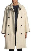 Etoile Isabel Marant Flicka Double-Breasted Wool Coat