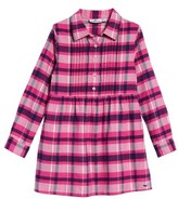 Vineyard Vines Toddler Girl's Plaid Flannel Shirt Dress