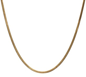 Arianne Chain Necklace In Gold - 20""