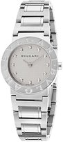 Bulgari Bb26wss-12N Women's Diamonds Stainless Steel Round Dial Watch