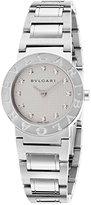Bulgari Bb26wss-12N Women's Diamonds Stainless Steel Round Dial Watch