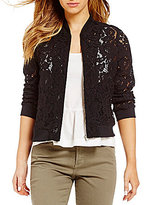 Fever Lace Bomber Jacket