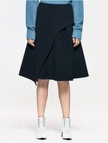 Calvin Klein Platinum Flared Skirt