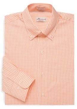 Peter Millar Crown Gingham Button-Down Shirt