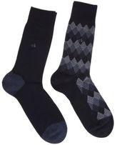 Calvin Klein New Mens Blue Roder Cotton/Polyamide Socks Fashion