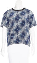 Opening Ceremony Psychedelic Print Oversize Top