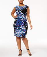 Anne Klein Plus Size Printed Sheath Dress