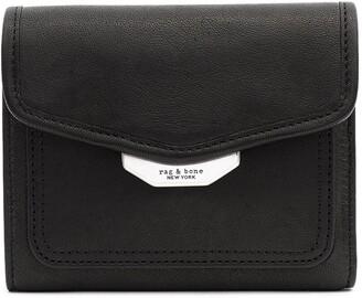 Rag & Bone Field Leather French Wallet