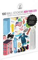OMY New York City Wall Stickers - Set of 100