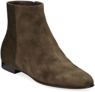 Suede Boots-flat Heel | Shop the world