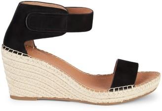 Gentle Souls Celisse Suede Wedge Sandals