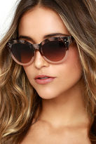 LuLu*s Wowie Zowie Grey and Silver Mirrored Sunglasses