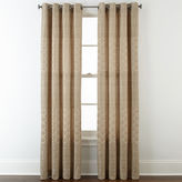 STUDIO BY JCP HOME StudioTM Henderson Jacquard Grommet-Top Curtain Panel