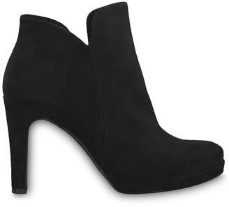 Tamaris Lycoris Faux Suede Ankle Boots with High Heel