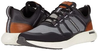 Cole Haan Zerogrand Outpace Runner (Black/Pavement/CH British Tan/Ivory) Men's Shoes