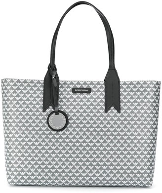 Emporio Armani Monogram Tote Bag