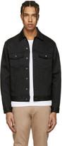 Naked and Famous Denim Black Denim Power Stretch Jacket