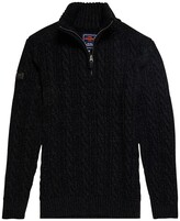 Superdry Jacob Knitted Jumper with Zipped Collar