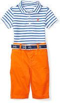 Polo Ralph Lauren Shirt, Pant & Belt Set