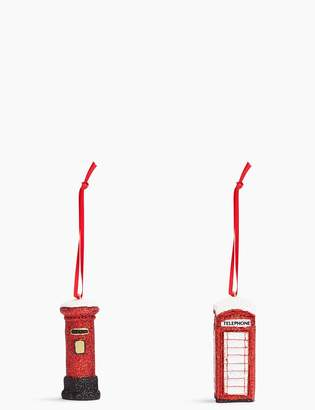 Marks and Spencer 2 Pack Post Box & Phone Box Decorations
