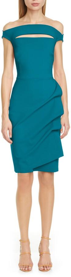 Chiara Boni 'Melania' Jersey Dress