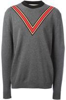 Stella McCartney V-neck intarsia jumper