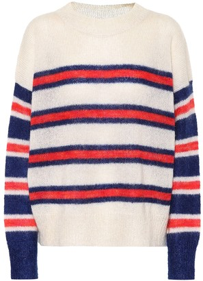 Etoile Isabel Marant Russell striped mohair-blend sweater