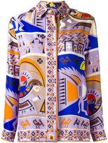 Emilio Pucci printed blouse - women - Silk - 44