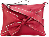RED Valentino studded bow shoulder bag - women - Calf Leather/metal - One Size
