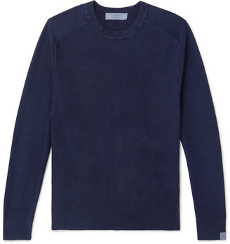 Rag & Bone Lance Garment-Dyed Cotton Sweater