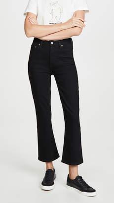 Brady Boyish The High-Rise Comfort Stretch Crop Flare Jeans