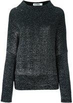 Jil Sander metallic effect jumper