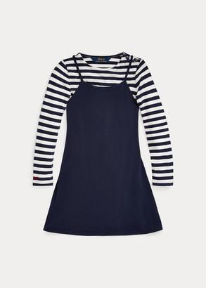 Ralph Lauren Layered Jersey Dress & Tee