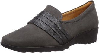 Theresia Muck Women's 800 Loafer Flats Gray (Grau/blei/schwarz 258) 5 UK (38 EU)
