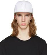 11 By Boris Bidjan Saberi White Logo Snapback Cap