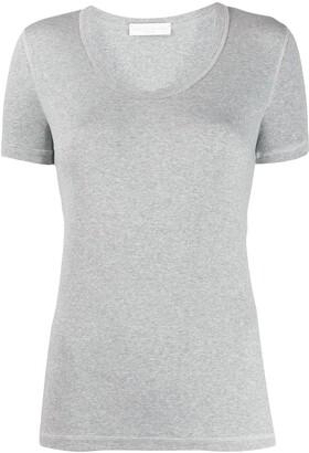 Fabiana Filippi short-sleeved ribbed T-shirt