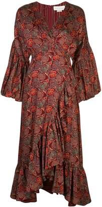 Sachin + Babi floral print flared dress