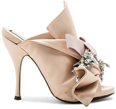 No.21 No. 21 Embellished Bow Mule in Blush. - size 39 (also in )