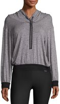 Koral Activewear Arch Athletic Pullover Hoodie, Gray