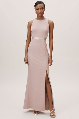 Adrianna Papell Idris Dress By in Pink Size 18