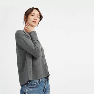 Everlane The Cashmere Square V-Neck Cardigan
